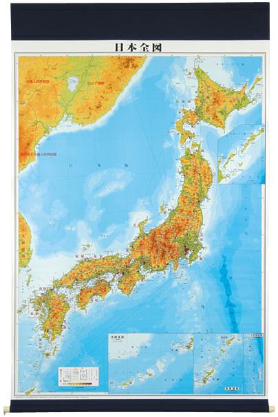 マジック式日本全図